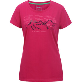 Icepeak Beddington T-shirt Damer, carmine